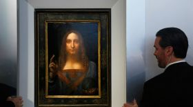 Леонардо да Винчидің соңғы картинасы