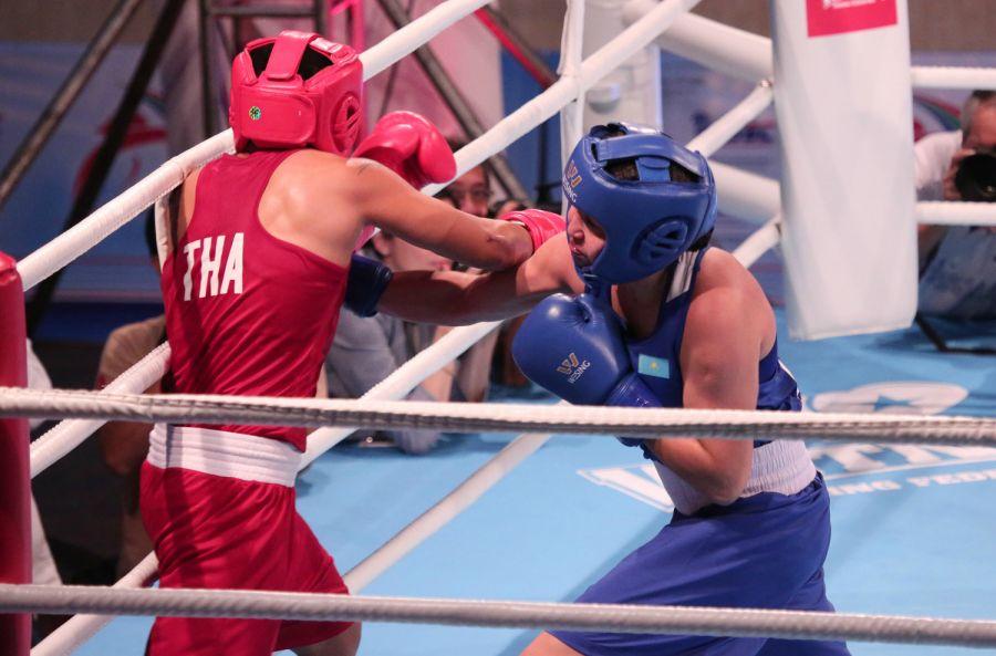 Мәдина Нұршаева бокстан Азия чемпионы атанды