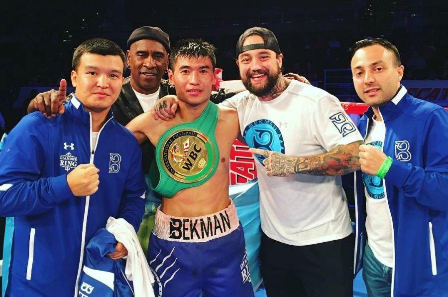 Бекман Сойлыбаев WBC рейтингінде үздік 20 боксшының қатарына қосылды