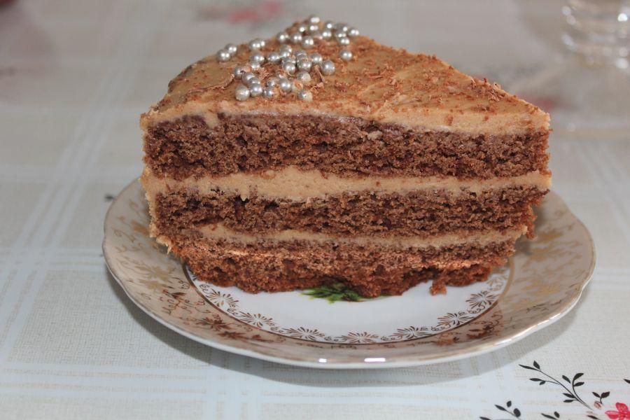 Массагеттен мәзір: Шоколад торты