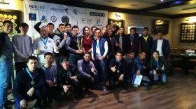 Футболдан журналистер арасында өткен жарыста EML командасы екінші орын алды