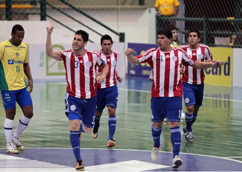 Футзалдан Парагвай ұлттық құрамасы Алматыға келді