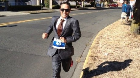 Канадалық желаяқтың ерекше марафоны