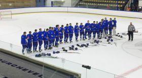 Хоккейден Қазақстан жастары әлем чемпионатын жеңіспен бастады
