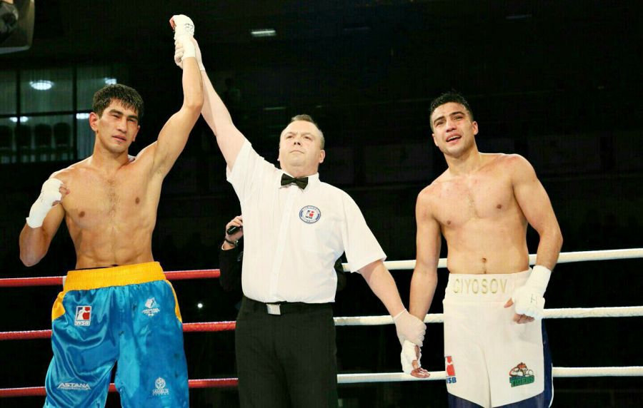 Асланбек Шымбергенов екінші жыл қатарынан WSB жобасының үздік боксшысы атанды