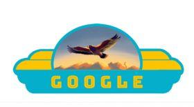 Google тәуелсіздік күнімен құттықтады
