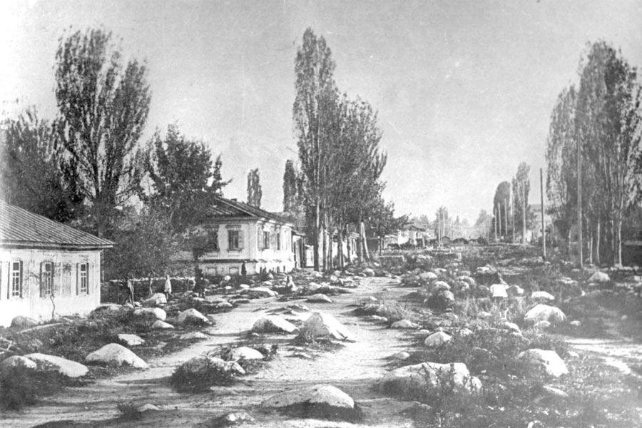 107 жыл бұрынғы Алматы. Жан түршігерлік оқиға