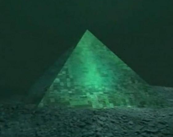 Атлант мұхиты жасырған пирамидалар...