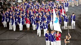 Қысқы Олимпиада ашылуы кезінде қос Корея бір тудың астына бірігеді