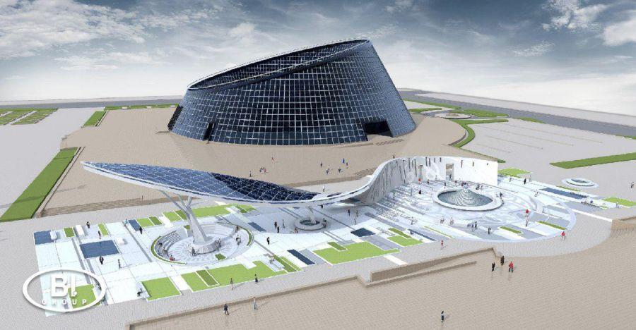 BI Group Астанада әлем қабырғасын тұрғызады