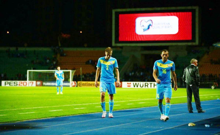 Қазақстан құрамасы ФИФА рейтингінде бір орын төмен сырғыды