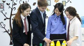 Павлодарлық оқушылар диабетке қарсы сусынға патент алды