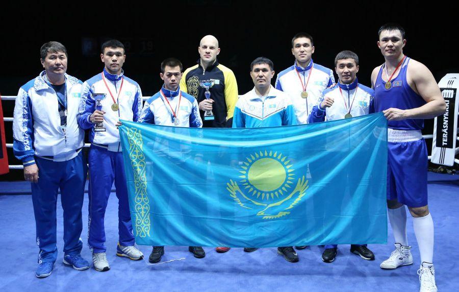 Қазақ боксшылары Хельсинкидегі халықаралық турнирде 5 алтын медаль иеленді
