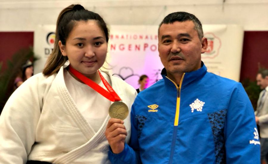Қазақстандық дзюдошы қыз Германиядағы турнирде қола медаль еншіледі
