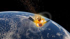 Жерге ғарыш аппараты құлайды