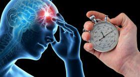Жарты минутта инсульт деңгейін анықтайтын құрылғы