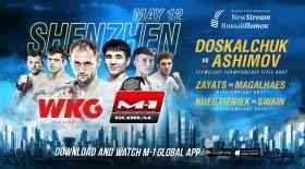 Арман Әшімов 12 мамырда М1 Global чемпиондық атағына таласады