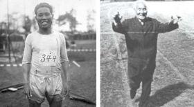 Мәреге 54 жылдан кейін жеткен марафоншы