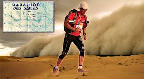 Сахарада адасып кеткен марафоншы