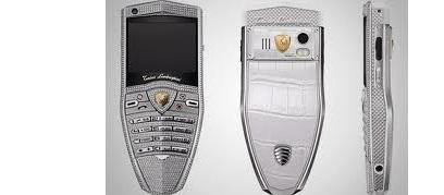 Алтынмен қапталған ұялы телефон