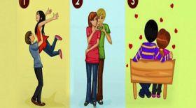 Психологиялық тест: Суреттегі ең бақытты жұпты таңдаңыз