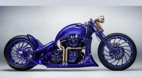 Harley-Davidson: 320 гаухармен көмкерілген мотоцикл