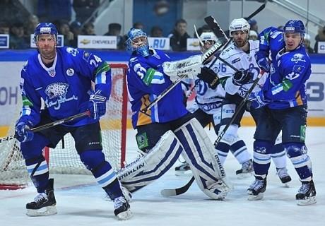 Астаналық «Барыс» «Динамодан» ұтылды