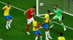 Бразилия мен Швейцария құрамалары тең түсті