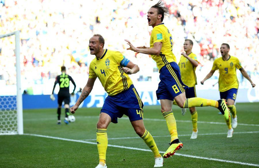 Шведтер Оңтүстік Корея құрамасын 1:0 есебімен ұтты