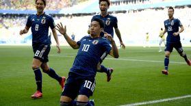 Жапония 10 футболшымен ойнаған Колумбияны ұтты