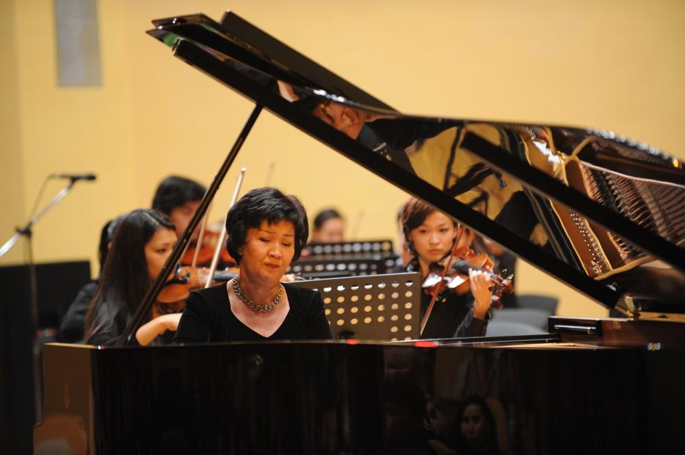 Ұлттық консерватория Ресейдің әйгілі залдарында концерт береді