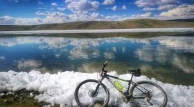 Велосапар. Астанаға 10 күнде жету