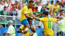 Бразилия құрамасы ширек финалға шықты