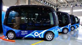 Қытайлық компания жүргізушісіз басқарылатын алғашқы автобусты шығарды