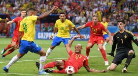 Бразилияны ұтқан Бельгия жартылай финалға шықты