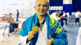 Қазақ спортшысы джиу-джитсудан әлем чемпионы атанды