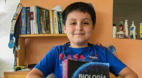 12 жастағы талантты бала Мексикадағы ең ірі университеттің студенті атанды