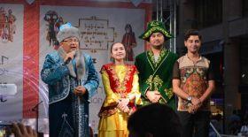 Қазақтың ұлттық киімі Ереван фестивалінде көрсетілді