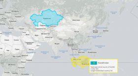 Онлайн-олжа: Қазақстан экваторда орналасса