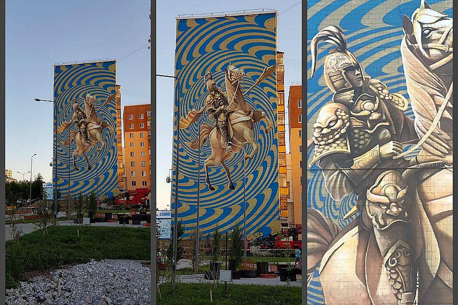 Қазақстандық суретшінің граффитиі әлемнің үздік туындыларының қатарына енді
