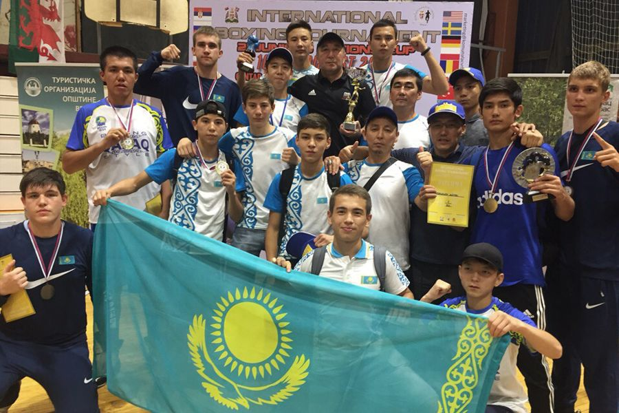 Қазақстандық боксшылар Ұлттар кубогында 13 медаль жеңіп алды