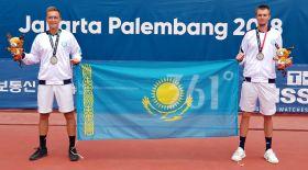 Қазақстандық теннисшілер Азия ойындарында күміс жүлдегер атанды