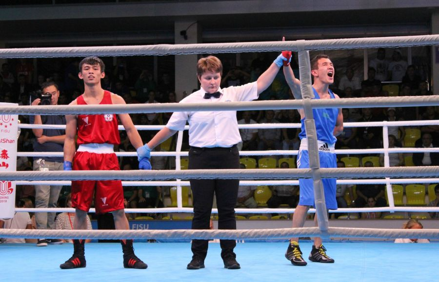 Қазақстандық боксшы студенттер арасындағы әлем чемпионатында топ жарды