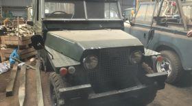 Шотландиядан антиквариат – Land Rover көліктері табылды