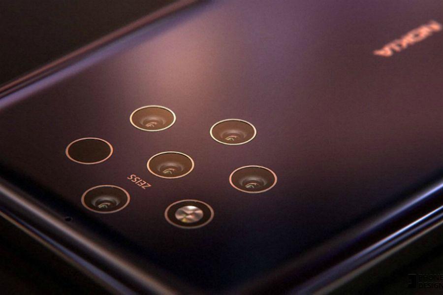 Nokia смартфоны енді 5 бірдей камераға ие
