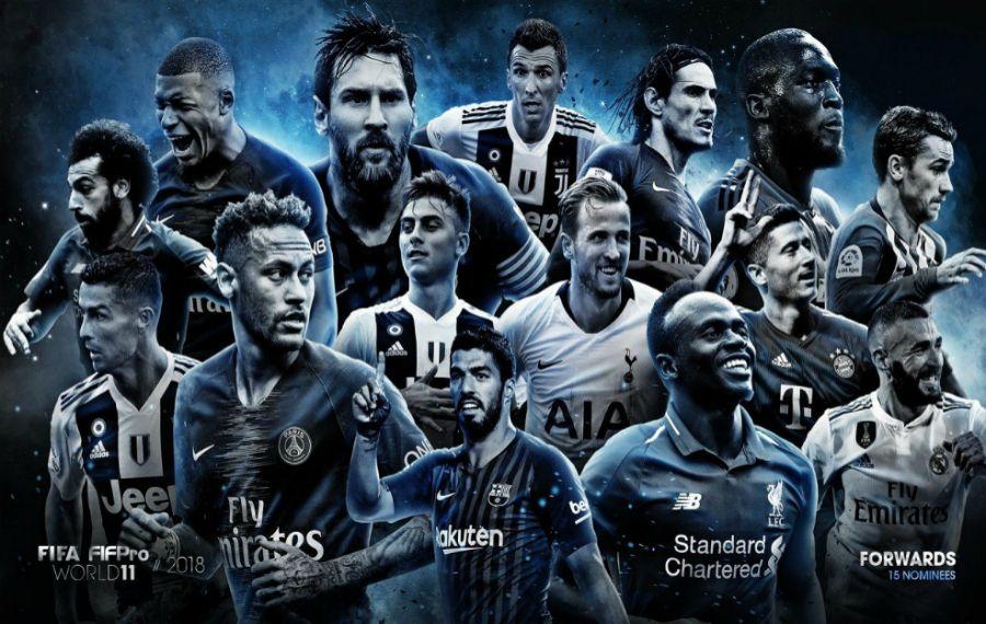 ФИФА-ның символикалық құрамына енуі мүмкін футболшылар тізімі жарияланды