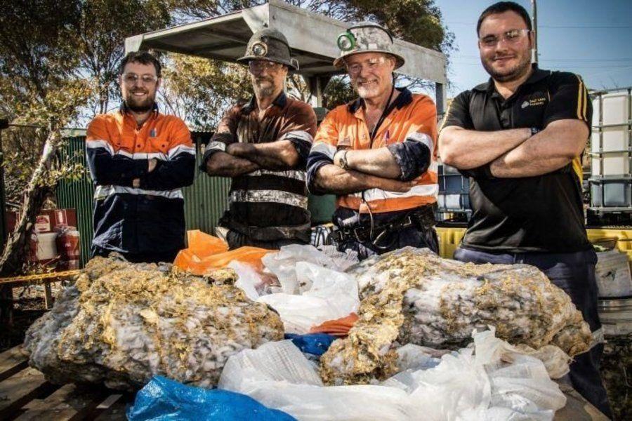 Аустралиядағы кеншілер 225 келі алтын тауып алды