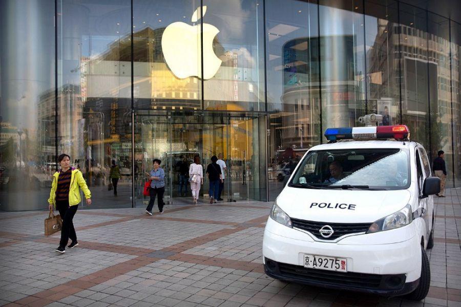 Apple дүкені 12 сағатта 2 рет тоналды