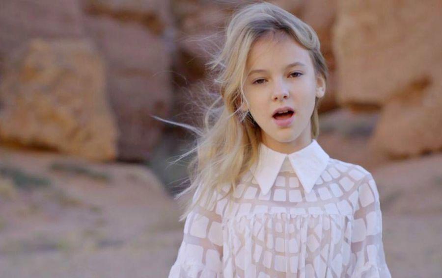Данэлия Төлешова Eurovision Junior байқауына дайындаған бейнебаянын таныстырды