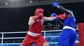 Қазақстандық үш боксшы жасөспірімдер арасындағы Олимпиаданың финалына шықты
